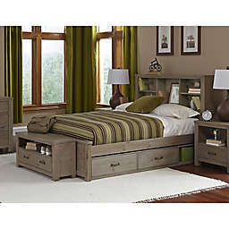 Hillsdale Kids and Teen Highlands Bookcase Bed with Trundle