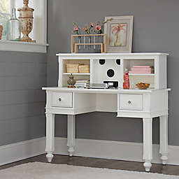 Hillsdale Kids and Teen Lake House Writing Desk and Entertainment Hutch Set