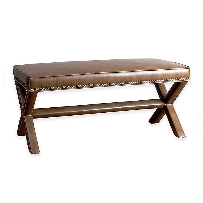 Abbyson Living Arc Extended X Bench