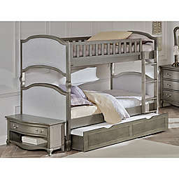 Hillsdale Kids and Teen Kensington Victoria Trundle in Antique Silver
