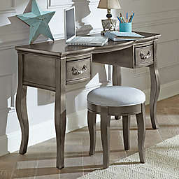 Hillsdale Kids and Teen Kensington Writing Desk in Antique Silver