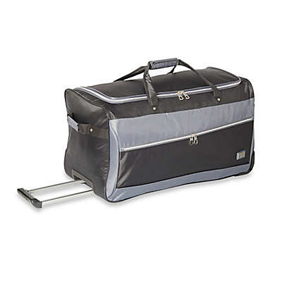 Latitude 40°N® Freehold 28-Inch Wheeled Duffle Bag in Black