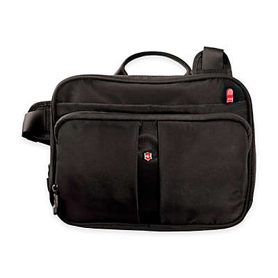 Victorinox® 3-Way-Carry Horizontal Tote with RFID Protection in Black