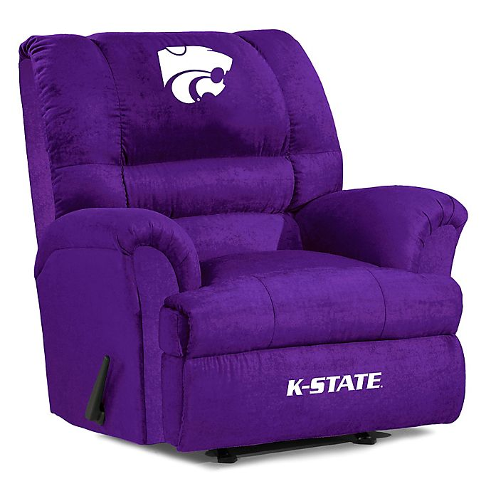 Alternate image 1 for Kansas State University Big Daddy Microfiber Recliner