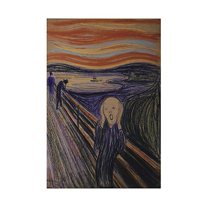 Alternate image 1 for The Scream Gold Edition 1000-Piece Jigsaw Puzzle