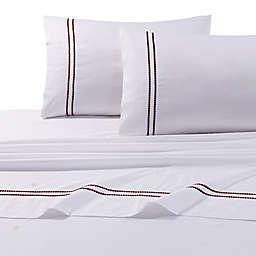 Tribeca Living 400-Thread-Count Premium Cotton Dot Sheet Set