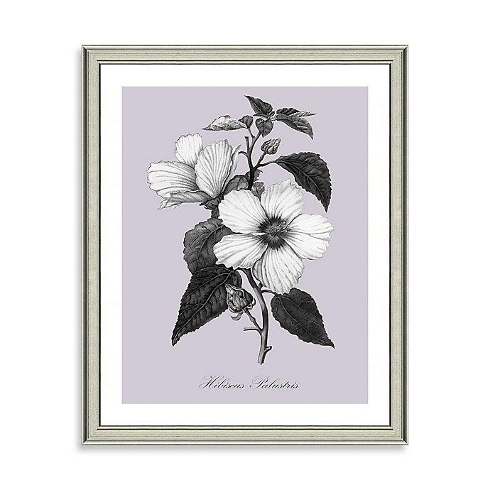 Alternate image 1 for Purple and White Botanical I Framed Wall Art