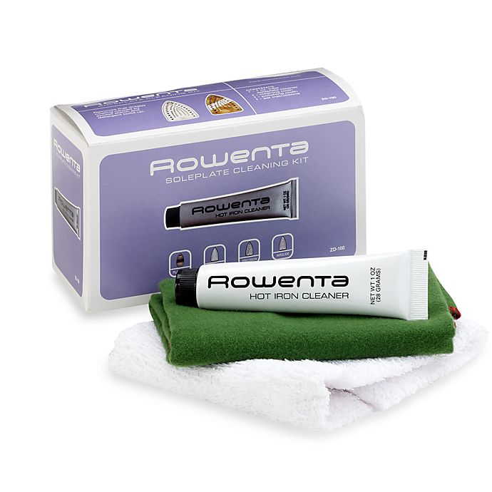Alternate image 1 for Rowenta® Soleplate Cleaning Kit