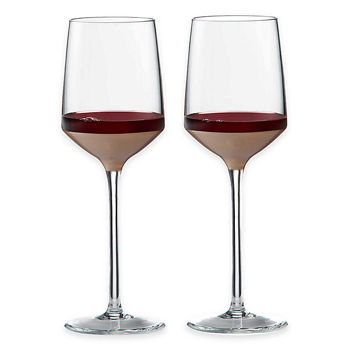 Alternate image 1 for Wedgwood® Arris Wine Glasses (Set of 2)