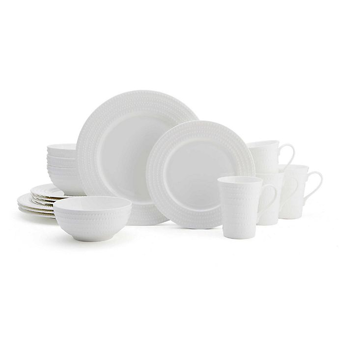 Alternate image 1 for Mikasa® Nellie 16-Piece Dinnerware Set