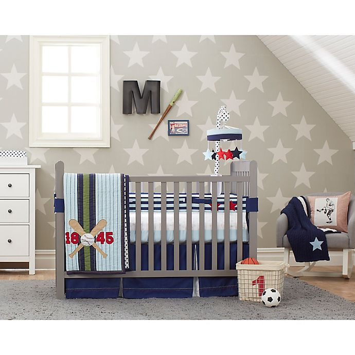 Just Born 174 Vintage Sports Crib Bedding Collection Buybuy