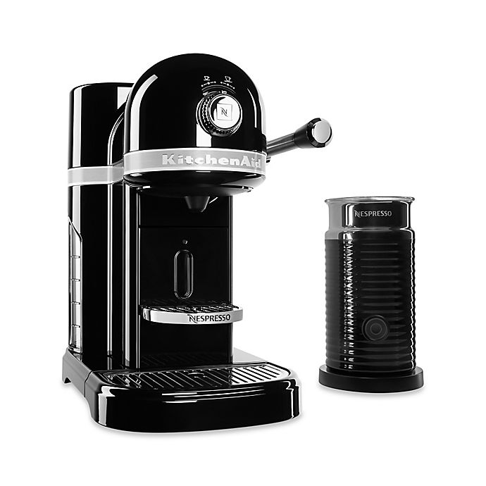 Alternate image 1 for Nespresso® by Kitchenaid® Espresso Maker Bundle with Aeroccino Frother