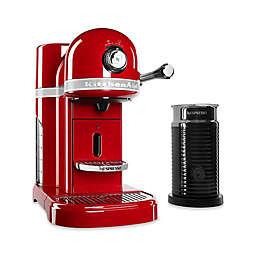Nespresso® by Kitchenaid® Espresso Maker Bundle with Aeroccino Frother