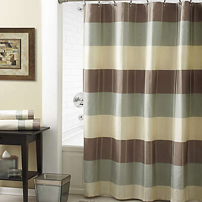 Croscill® Fairfax Shower Curtain in Taupe