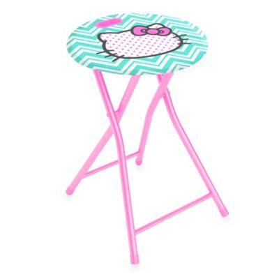 Hello Kitty 174 Folding Stool With Handle Bed Bath Amp Beyond