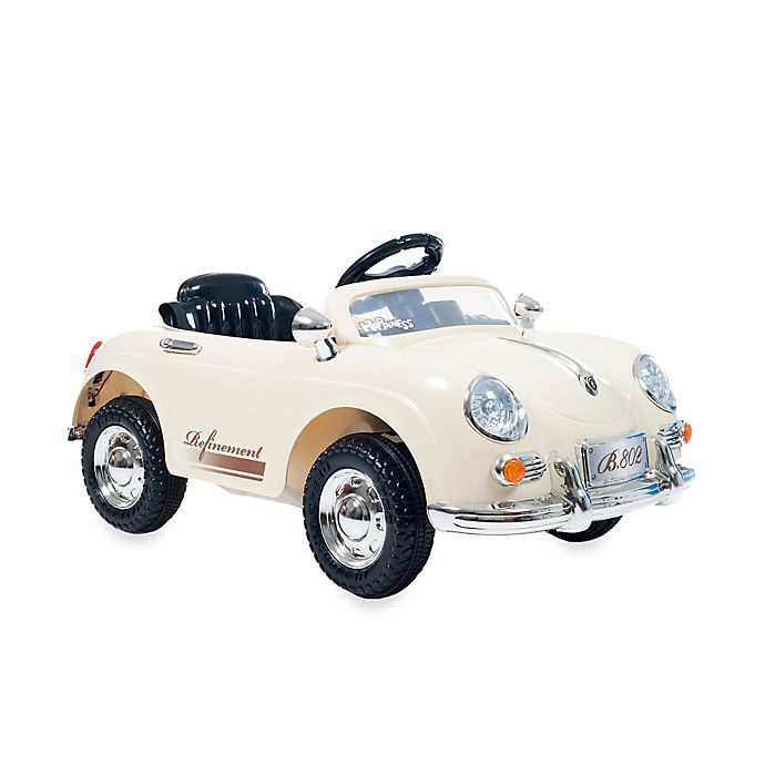 Alternate image 1 for Lil' Rider 58 Speedy Sportster Battery Operated Classic Car with Remote