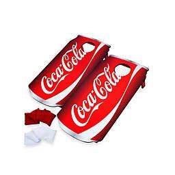 Trademark Games Coca-Cola® Can Cornhole Bean Bag Toss Game Set