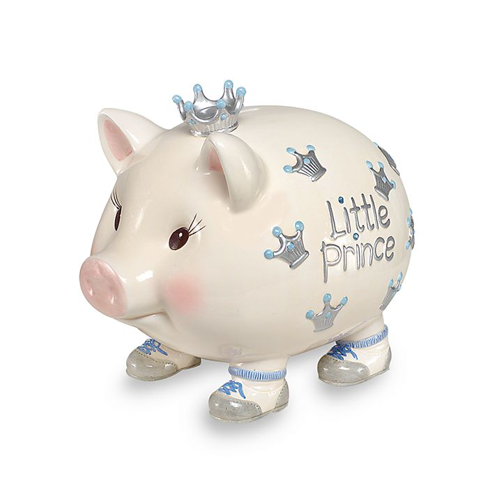 Alternate image 1 for Mud Pie® Giant Little Prince Piggy Bank