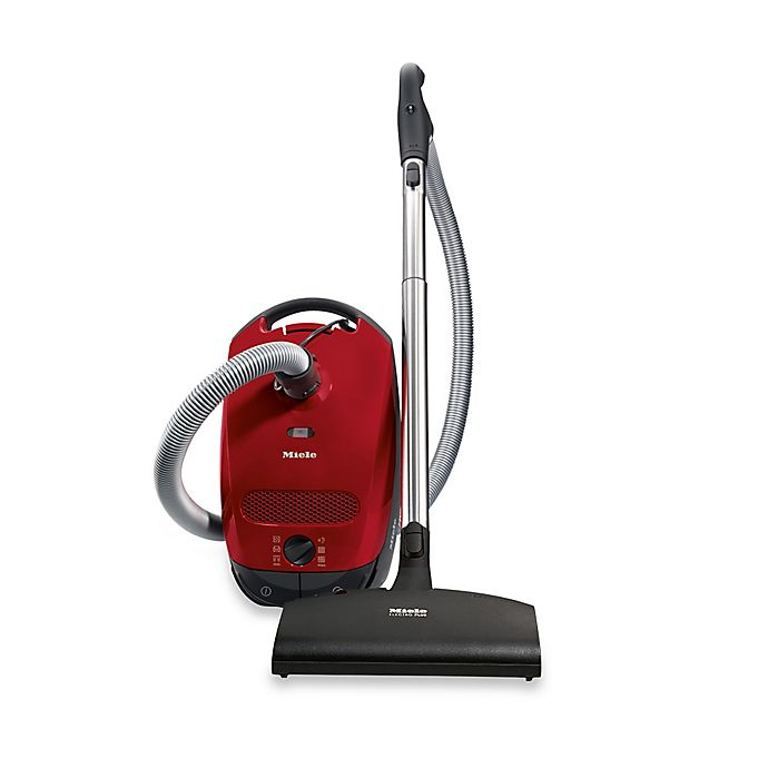 Alternate image 1 for Miele Classic C1 Cat and Dog Vacuum in Red