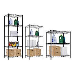 Home Basics®  Wire Shelves in Black
