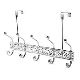 Home Basics® Over-the-Door 5-Hook Flat Wire Hanger in Chrome