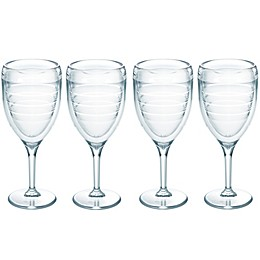 Tervis® 9 oz. Wine Glasses in Clear (Set of 4)