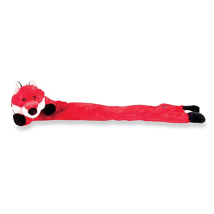 Alternate image 1 for Charming Pet® Longidudes™ Fox Dog Toy in Red/White