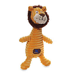 Charming Pet® Squeaking Squiggles™ Lion Dog Toy in Yellow