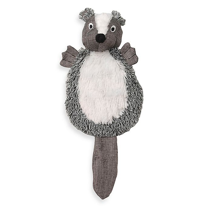 Alternate image 1 for CritterRageous Stewie the Skunk Pet Toy in Grey