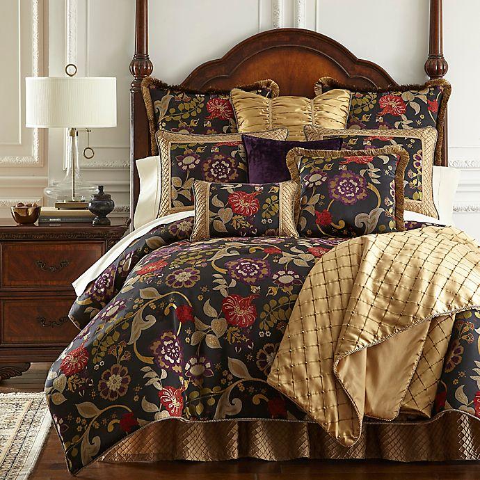 Alternate image 1 for Austin Horn Classics Escapade Reversible Comforter Set in Black
