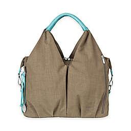 Lassig Green Label Neckline Diaper Bag in Taupe