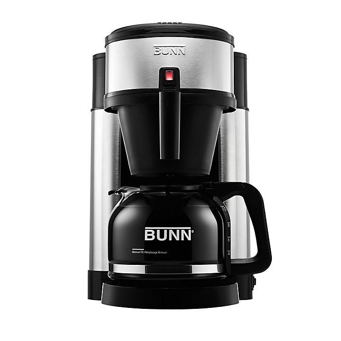 Bunn Nhs Velocity Brew 10 Cup Coffee Brewer In Black Bed Bath Beyond