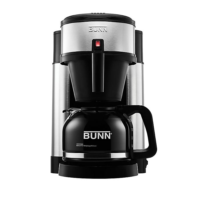 Alternate image 1 for BUNN NHS Velocity Brew 10-Cup Coffee Brewer in Black