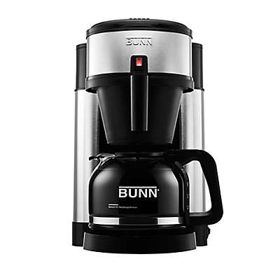 BUNN NHS Velocity Brew 10-Cup Coffee Brewer in Black