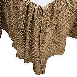 Austin Horn Classics Escapade California King Bed Skirt in Gold
