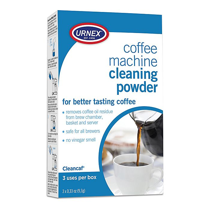 Alternate image 1 for Cleancaf® 3-Pack Cleaner and Descaler for Home Coffee Machines