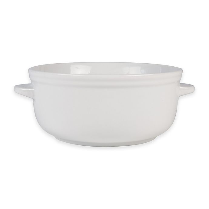 Alternate image 1 for Everyday White® by Fitz and Floyd® Bistro Chili Bowl