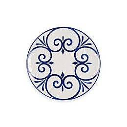 Everyday White® by Fitz and Floyd® Bistro Blue Palazzo Salad Plate
