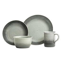 Baum Gradient Grey 16-Piece Dinnerware Set