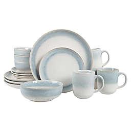 BAUM Marina 16-Piece Dinnerware Set in Grey