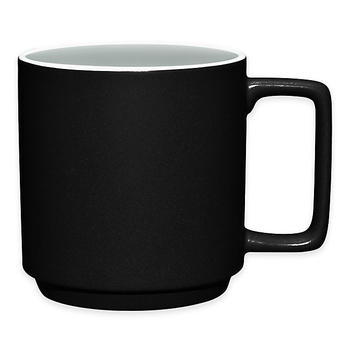 Alternate image 1 for Noritake® ColorTrio Stax Mug in Graphite