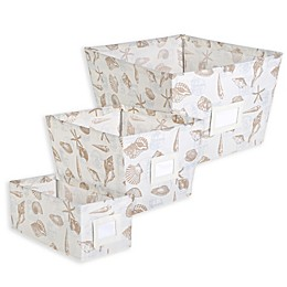 SALT™ Canvas Storage Bin in Beach Print