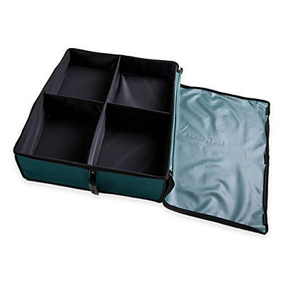 Disc-O-Bed Footlocker Expandable Under Cot Storage in Green
