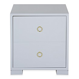 2-Drawer Laila Chest in Grey
