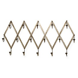 """Wall Mounted """"Ruler"""" Coat Rack in Oil Rubbed Bronze"""