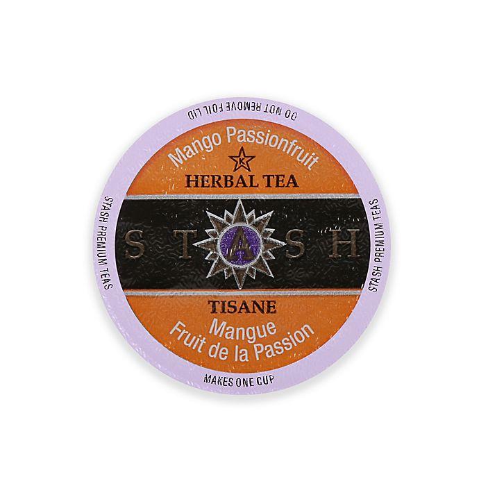 Alternate image 1 for Keurig® K-Cup® Pack 18-Count Stash Coffee Co. Mango Passionfruit Herbal Tea