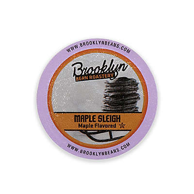 Brooklyn Bean Roastery 16-Count Maple Sleigh Coffee for Single Serve Coffee Makers