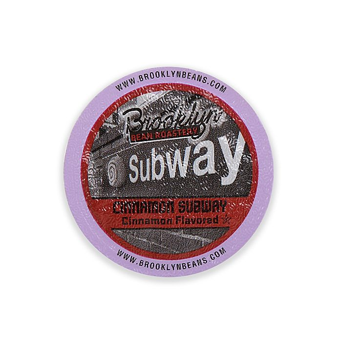 Alternate image 1 for Brooklyn Bean Roastery Coffee Co. 16-Count Cinnamon Subway Coffee for Single Serve Coffee Makers