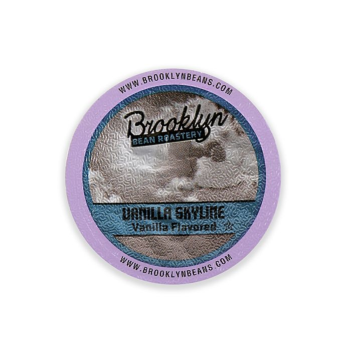 Alternate image 1 for Brooklyn Bean Roastery 16-Count Vanilla Skyline Coffee for Single Serve Coffee Makers