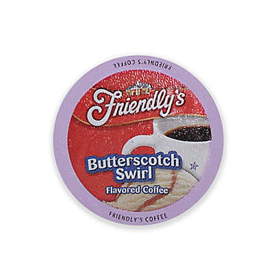 Friendly's 18-Count Butterscotch Swirl Flavored Coffee for Single Serve Coffee Makers